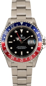 Used Rolex GMT-Master 16710 Red and Blue Pepsi Bezel