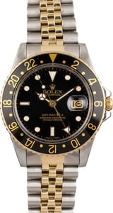 Used Rolex GMT-Master 16753 Two Tone Watch