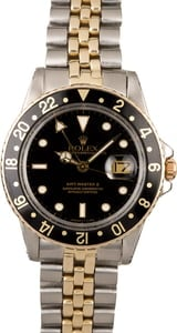 Rolex GMT-Master 16753 Two Tone American Oval Link