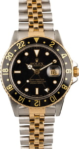 Pre-Owned Rolex GMT-Master 16753 Two Tone