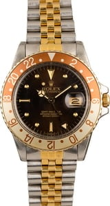 Used Rolex GMT-Master 16753 'Root Beer' Insert