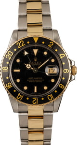Pre-Owned Rolex GMT-Master 16753 Two Tone Oyster