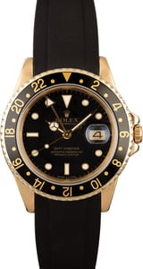 Rolex GMT Master 16758 Yellow Gold Case