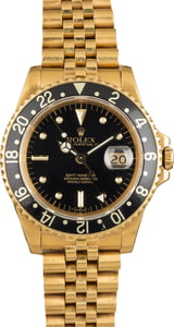 Rolex GMT-Master 16758 Black Nipple Dial