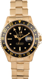 Pre Owned Rolex GMT-Master 16758 Nipple Dial