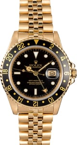 Rolex GMT-Master 16758 Yellow Gold