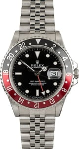PreOwned Rolex Fat Lady GMT-Master II 16760 Coke