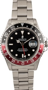 "Pre Owned Rolex GMT Master II 16760 ""Coke"" Bezel"