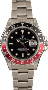 Used Rolex GMT-Master II Ref 16760 'Fat Lady Coke' Insert