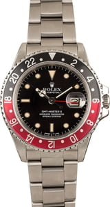Pre-Owned Rolex GMT-Master II 16760 'Fat Lady Coke' Insert