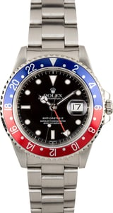 Rolex GMT Master 2 Red and Blue Pepsi Bezel 16710