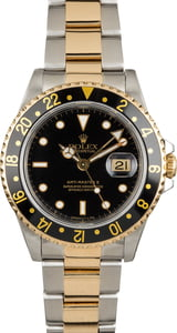 Rolex GMT-Master II Ref 16713 Black Luminous Dial