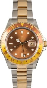 Pre Owned Rolex GMT-Master II Ref 16713 Root Beer
