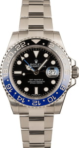 Rolex GMT-Master II 116710B Batman Model