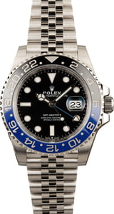Rolex GMT Master II Ref 126710 Batman New Model