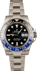 Pre-Owned Rolex 116710 GMT-Master II Batman Model