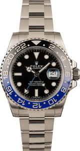 Pre-Owned Rolex 116710 GMT-Master II Batman