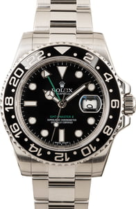 Rolex GMT-Master II Reference 116710 Black Dial