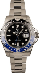 Pre-Owned Rolex 116710BLNR GMT-Master II Ceramic Batman Model