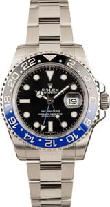 Pre-Owned Batman Rolex 116710 GMT-Master II