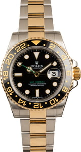 Used Rolex Two Tone GMT-Master II Ref 116713 Ceramic Model