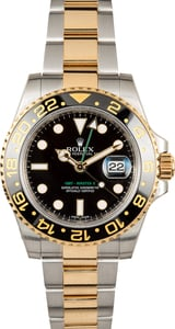 Rolex GMT Master 2 Steel and Gold 116713 Black Dial