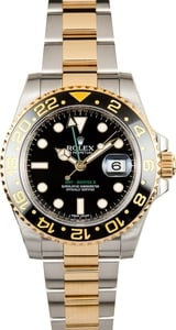 Rolex GMT Master II 116713 Steel and Gold