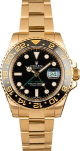 Pre-Owned Rolex GMT-Master II Ref 116718 Black Dial