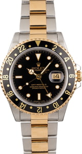 Pre Owned Black Dial Rolex GMT-Master II Ref 16713