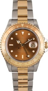 Pre Owned Rolex 'Root Beer' GMT-Master II Ref 16713