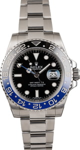 Pre Owned Rolex GMT Master II Ref 116710 Ceramic Batman