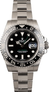 Pre Owned Rolex GMT-Master II Ref 116710 Bezel Ceramic Black