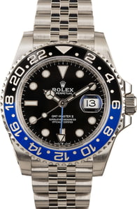 Rolex 126710 GMT Master II Batman Model
