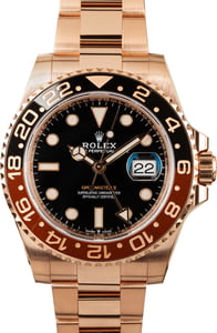 Rolex GMT-Master II Everose 126715 'Root Beer' Model