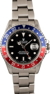 Pre-Owned Rolex GMT Master II 16710 Pepsi Bezel