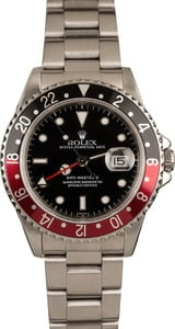 Rolex GMT-Master II 'Coke' Ref 16710 Steel Watch