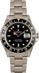 Men's Rolex GMT-Master II Stainless Steel Model 16710