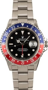 Pepsi Rolex GMT Master II Watch