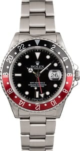 Pre Owned Rolex GMT Master II 16710 Coke Bezel