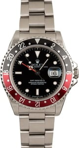 Pre-Owned Rolex Coke GMT Master II Ref 16710