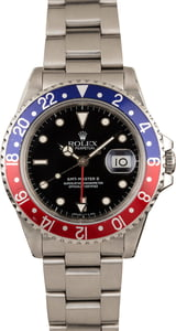 Pre-Owned Rolex GMT Master II Ref 16710 'Pepsi'