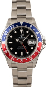 Pre-Owned Rolex 'Pepsi' GMT Master II Ref 16710T