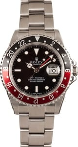Pre-Owned Rolex 16710 'Coke' GMT Master II