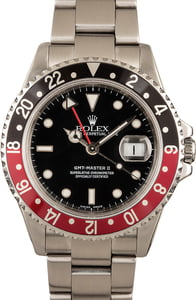 Rolex GMT Master II 16710 Black & Red Bezel