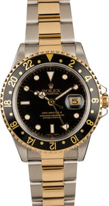Pre-Owned Rolex GMT-Master II Ref 16713 Two Tone