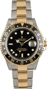 Used Rolex GMT Master II 16713 Men's Watch