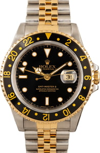 Rolex GMT-Master II 16713 Steel and Gold