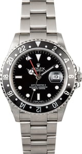 Rolex GMT-Master II Black 16710 No Holes