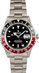 Men's Rolex GMT Master II Coke Bezel Model 16710