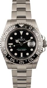 Pre Owned Rolex GMT-Master II Ref 116710 Black Ceramic Insert